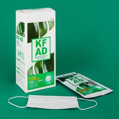 클린 KF-AD 덴탈 마스크 100매 비말차단 대형