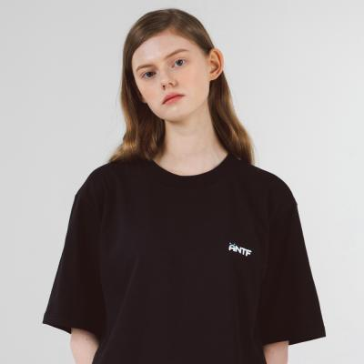 소프트 로고 반팔티셔츠 (블랙)