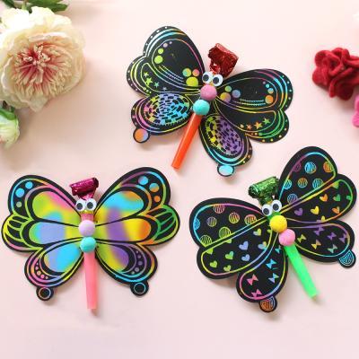 스크래치 나비 피리 10set