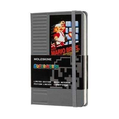 몰스킨 [18슈퍼마리오]룰드/NES 카트리지 그레이 P