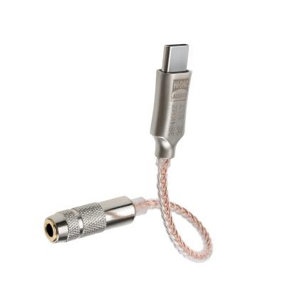 C타입 to AUX 3.5mm 오디오 변환 젠더 케이블 LCIH167