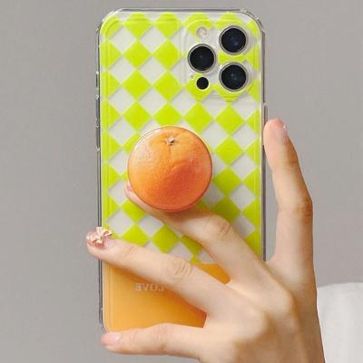 아이폰 12 11 pro max se2 오렌지 그립톡 세트 케이스