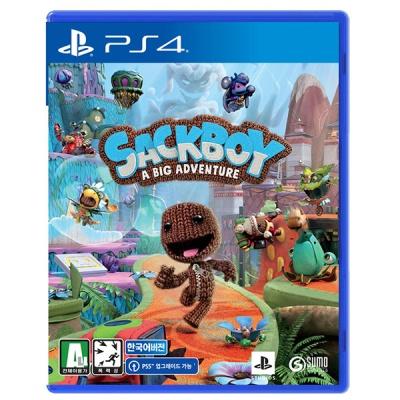 PS4 색보이 빅 어드벤처 한글판 (할인이벤트)