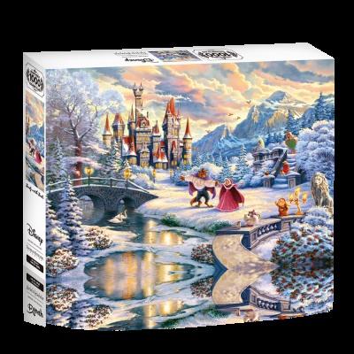 직소퍼즐 1000피스 미녀와야수 겨울마법 KD1000-01