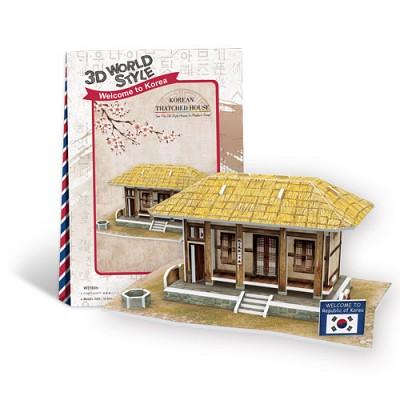 [3D퍼즐마을][입체퍼즐][W시리즈] 월드 스타일 시리즈 - 대한민국편