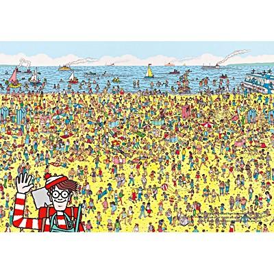 1000조각 직소퍼즐▶ 월리를 찾아라 - 해변가 (PL1318)