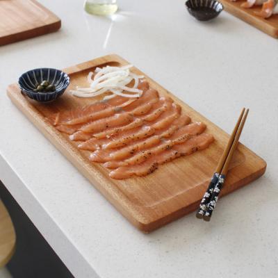 마호가니 고기 접시- 대