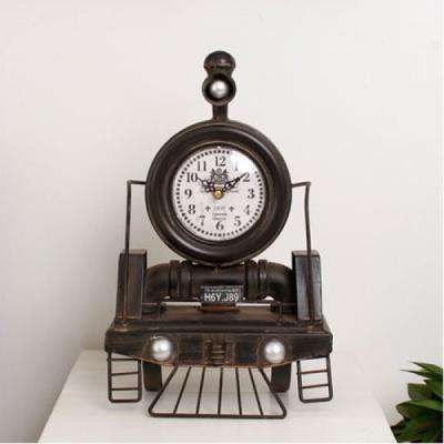 [2HOT] 빈티지 기차 탁상시계