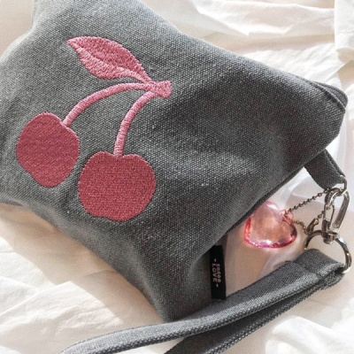 Graypink Cherry  pouch(파우치)