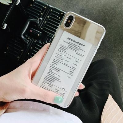 아이폰XR XS MAX 8 7플러스 슬림핏 미러 핸드폰케이스
