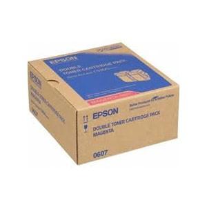 엡손(EPSON) 토너 C13S050607 (Double Pack) / Magenta / AcuLaser C9300N Toner / ( 7.5K*2 )