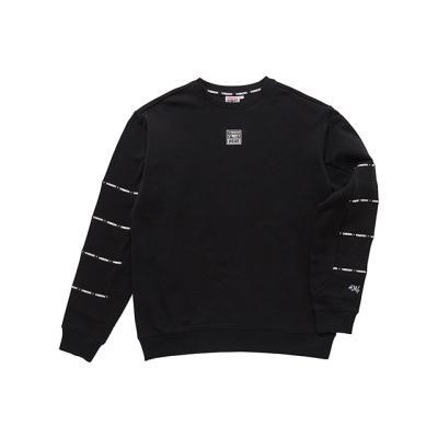 비젼스트릿웨어 스웨트 티셔츠 VISW308UN BLACK