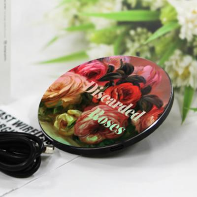 [르누아르] Discarded Roses-무선충전 명화트윙클패드