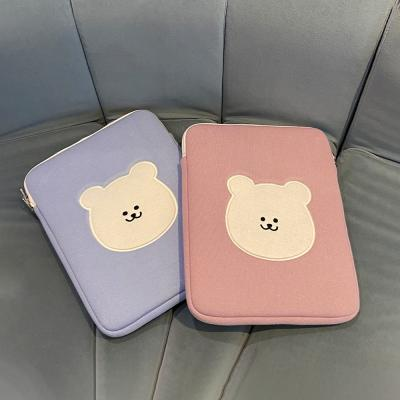 (11inch pouch) 곰찌 얼굴