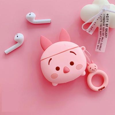 에어팟케이스 1 2세대 캐릭터 실리콘 키링 406 피글렛
