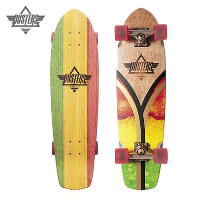 [DUSTERS] 31 FLASHBACK RASTA FLAG CRUISERBOARD