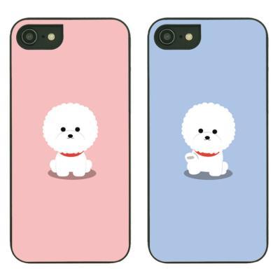 아이폰8플러스케이스 비숑프리제 스타일케이스