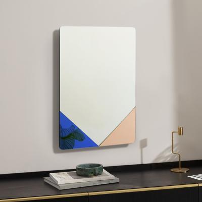 클로이 아트 미러 사각 화장대 인테리어 거울 40X60CM