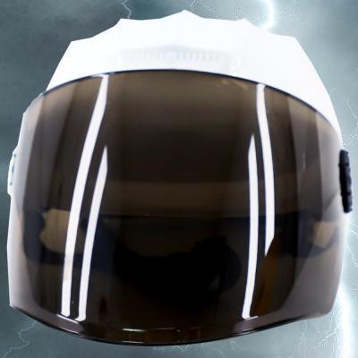 전대물 슈퍼 히어로 모자 헬멧가면 (화이트)