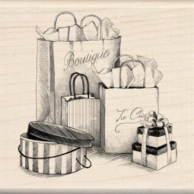 우드스탬프 ShoPaper Pading Bags