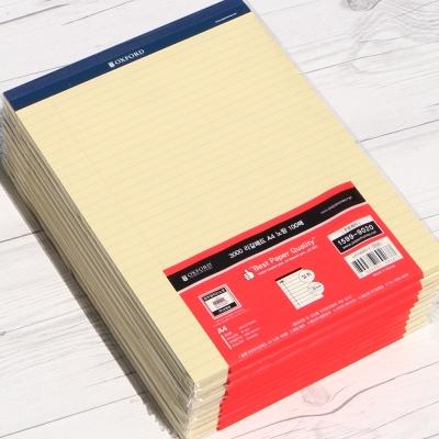 옥스포드 A4 100매×10권 대용량 리갈패드 LP100A4