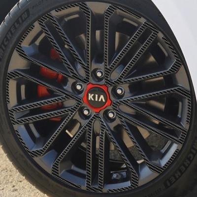 기아 올 뉴 K3 GT 18인치 카본블랙 휠스티커/1세트