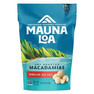 마우나로아 로스티드 마카다미아 하와이안 씨솔트226g