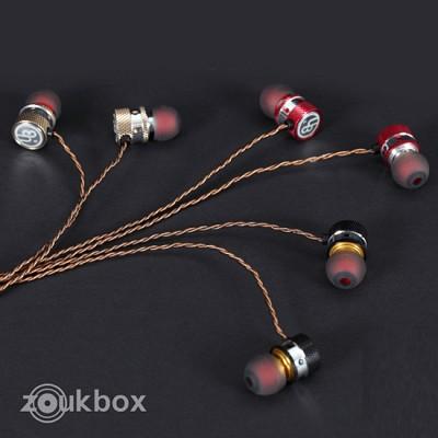 주크박스 커널형 이어폰 ULTRA BEAN Sound Designer (알루미늄 소재 하우징 / 이어가이드 / 파우치)