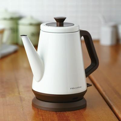 일본 프리미엄 주방가전 레꼴뜨 클래식 케틀 리브르 전기주전자 커피 분유 포트