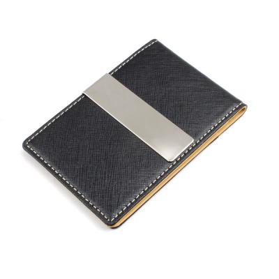 리더플랜 천연 가죽 디자인 머니클립 지갑 레귤러