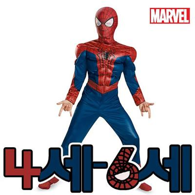스파이더맨2머슬 코스튬(4-6세)