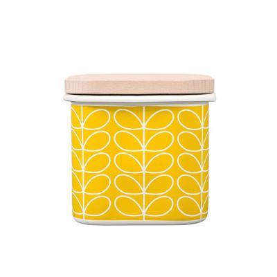 [올라카일리] 에나멜 법랑 저장 보관용기 옐로우