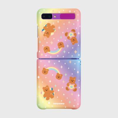 Rainbow bear-pink/yellow(Z플립-하드)