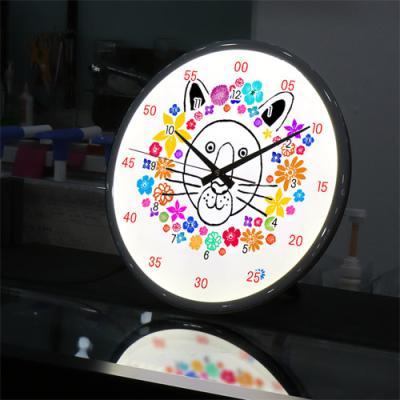 ng298-LED시계액자35R_꽃보다아름다운사자