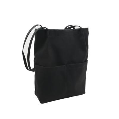 데일리 에코백 캔버스 숄더백 도트백 가방 심플 포켓