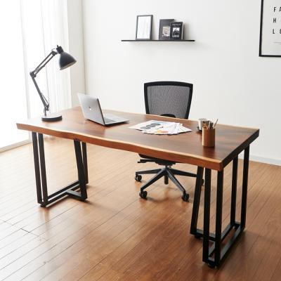 코디 1800x800 우드슬랩 책상 원목 테이블