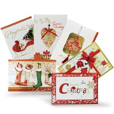 Christmas시즌카드 (FS1591 6종 set)