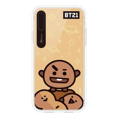 BT21 iPhoneX 슈키 미러 라이팅 케이스 (Hybrid)