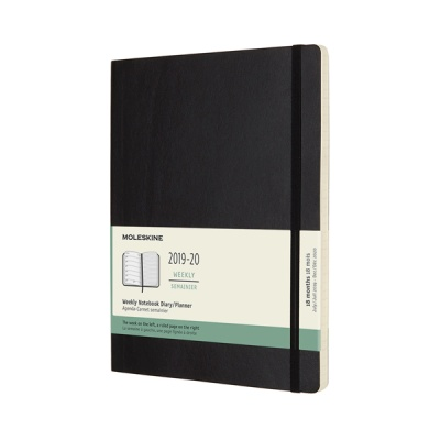 몰스킨 2020위클리(18M)/블랙 소프트 XL
