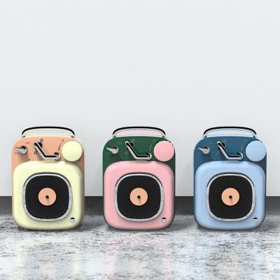 BT5.0 레트로 블루투스 스피커 RETRO 휴대용 LC-ORQ05