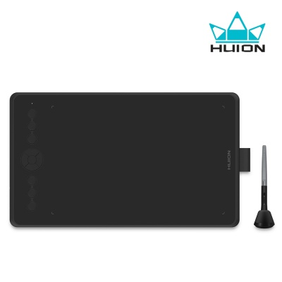 [휴이온] 정품 INSPIROY H320M-쿼츠블랙 펜 타블렛