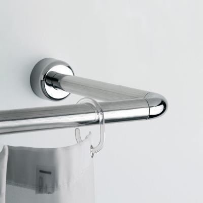 게디 ㄱ자 ㄷ자 크롬 샤워 커튼봉 (시공형)