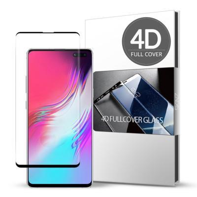 스킨즈 갤럭시S10 5G 4D 풀커버 강화유리 (1장)