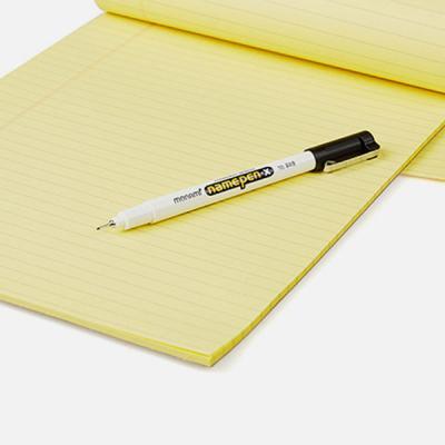 모나미 네임펜 X 가는글씨용 얇은 싸인펜