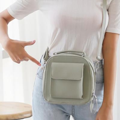 남자 여성 백팩 가방 직장인 데일리 가벼운 큐비이