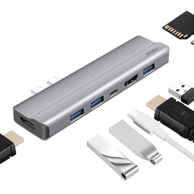 ETC010 커넥팅 USB-C 멀티허브 8in1 케이블