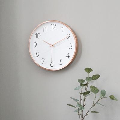 마블패턴무소음벽시계-A(3color)