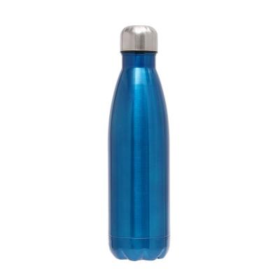 스텔라 유광 진공 보온병(500ml) (블루)/ 스텐보냉병