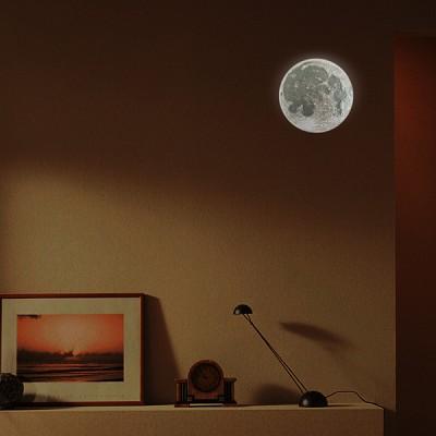 달 무드 램프