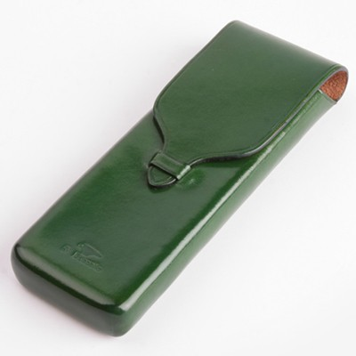 IL BUSSETTO  PEN POUCH / FOREST GREEN